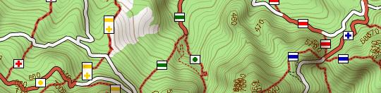 turistautak.hu térképrészlete